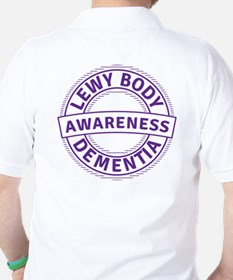 Lewy Body Dementia Awareness Golf Shirt