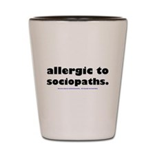 Unique Allergy Shot Glass