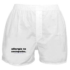 Funny Allergy Boxer Shorts