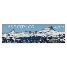 Lake City Dreaming Bumper Sticker