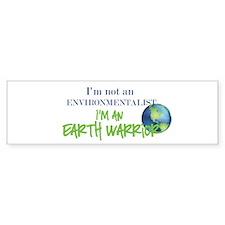 Earth Warrior Bumper Sticker