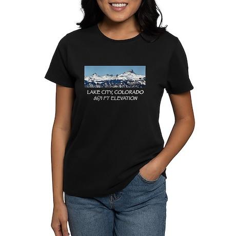 Lake City, Colorado Women's Dark T-Shirt