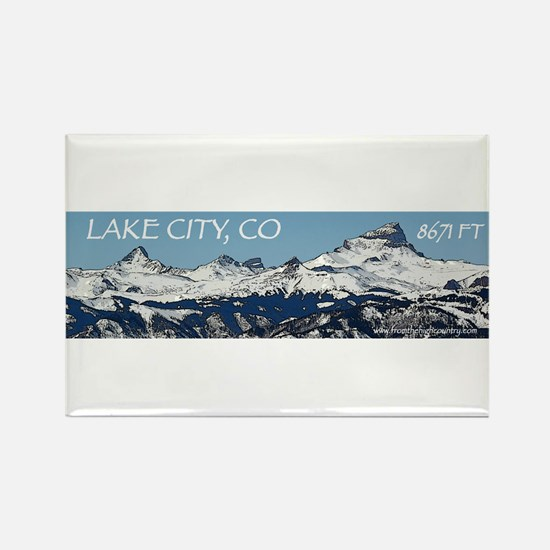 Lake City, Colorado Rectangle Magnet