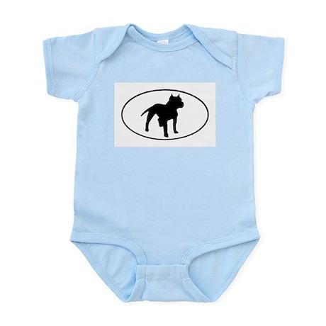 Pit Bull Infant Creeper