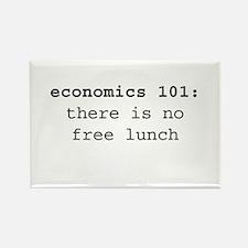 Economics 101 Rectangle Magnet