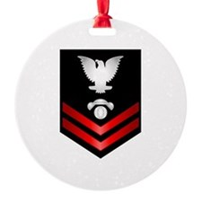 Navy PO2 Interior Comm Electrician Ornament