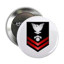 "Navy PO2 Interior Comm Electrician 2.25"" Button"