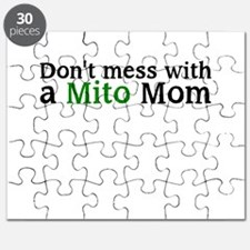 Dont mess with a Mito Mom Puzzle