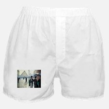 Caillebotte Paris Street Rainy Day Boxer Shorts