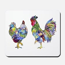 Rooster & Hen Mousepad