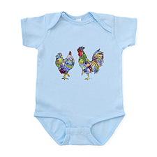 Rooster & Hen Infant Bodysuit