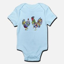 Rooster & Hen Infant Bodysuit