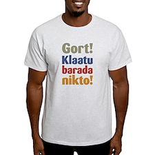 Klaatu-Barada-Nikto T-Shirt