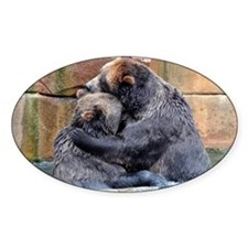 Cute Bear hug Decal