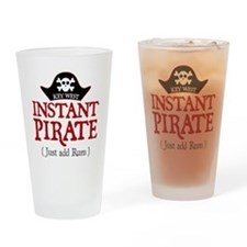 Key West Pirate - Drinking Glass