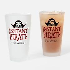 Key West Pirate - Drinking Glass