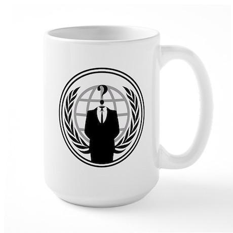 Anonymous Large Mug