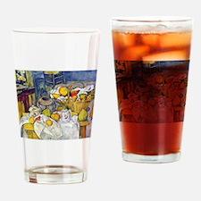 Paul Cezanne Fruit Basket Still Life Drinking Glas