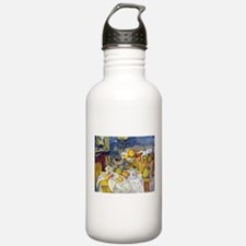 Paul Cezanne Fruit Basket Still Life Water Bottle