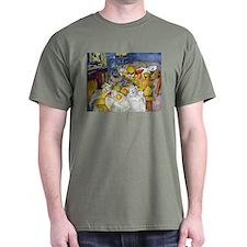 Paul Cezanne Fruit Basket Still Life T-Shirt