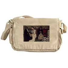 Cezanne Overture to Tannhauser Messenger Bag