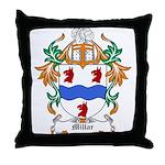 Millar Coat of Arms Throw Pillow