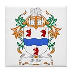 Millar Coat of Arms Tile Coaster