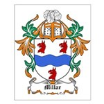 Millar Coat of Arms Small Poster