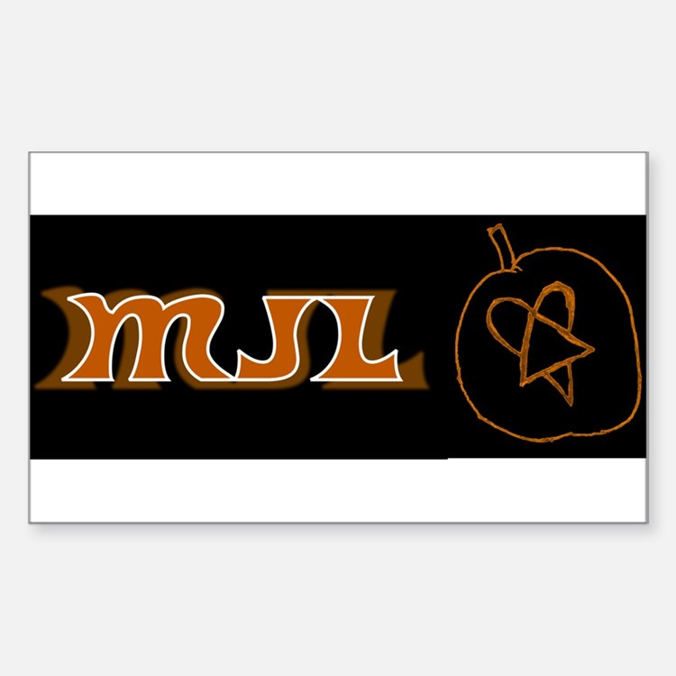 MJL Halloween Heartagram Decal