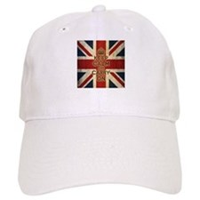 Vintage Keep Calm And Carry On Baseball Cap