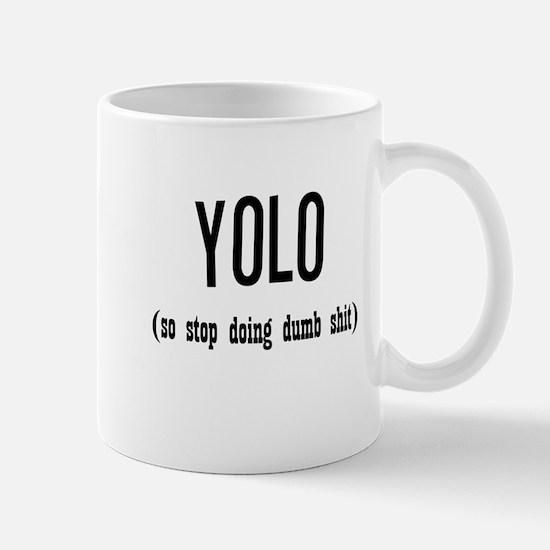 Funny YOLO Mug