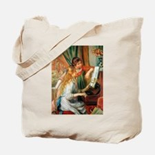 Renoir Girls At The Piano Tote Bag