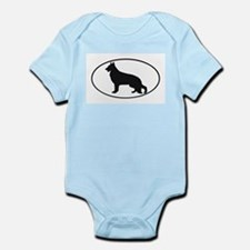 German Shepherd Dog Infant Creeper