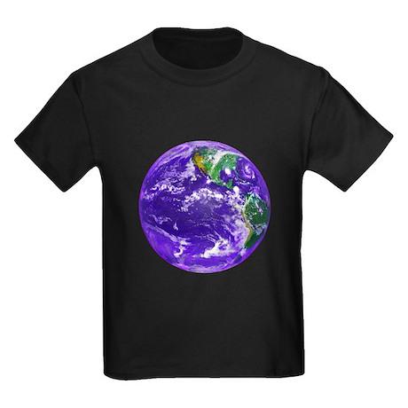 Planet Earth Kids Dark T-Shirt