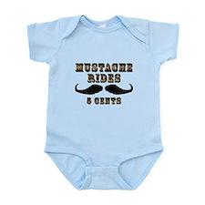 Mustache Rides Infant Bodysuit