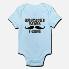 Mustache Rides Infant Bodysuit