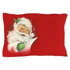 Santa Vintage Pillow Case