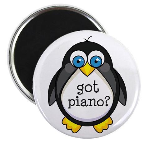 Piano Music Penguin Magnet
