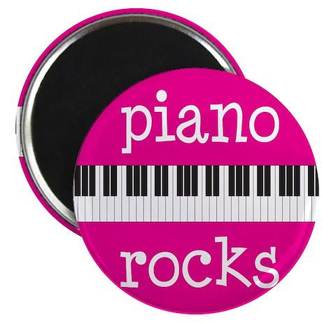 Piano Rocks Magnet