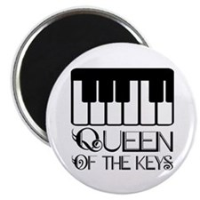 Piano Queen of the Keys Magnet