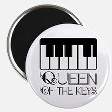 Piano Queen of the Keys Magnet