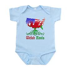 American Welsh Roots Infant Bodysuit