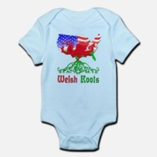 American Welsh Roots Onesie