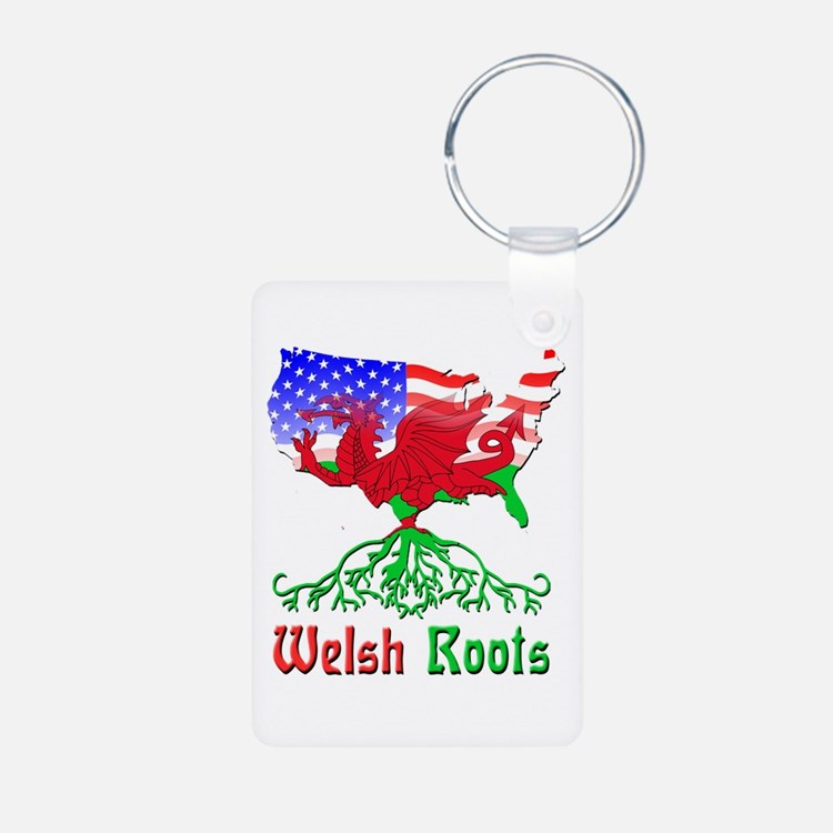 American Welsh Roots Keychains
