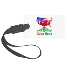 American Welsh Roots Luggage Tag