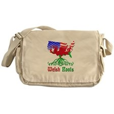 American Welsh Roots Messenger Bag