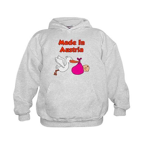 Made In Austria Girl Kids Hoodie