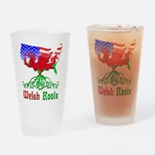 American Welsh Roots Drinking Glass