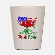 American Welsh Roots Shot Glass