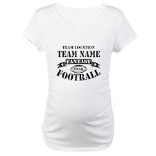 Your Team Fantasy Football Black Shirt